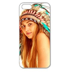 Indian 27 Apple Seamless Iphone 5 Case (clear) by indianwarrior