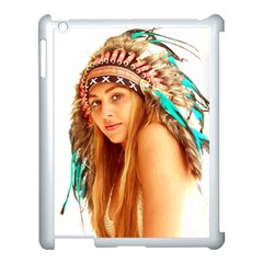 Indian 27 Apple Ipad 3/4 Case (white) by indianwarrior