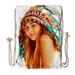 Indian 27 Drawstring Bag (large)