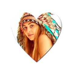 Indian 27 Heart Magnet by indianwarrior