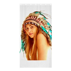 Indian 27 Shower Curtain 36  X 72  (stall)  by indianwarrior