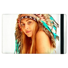 Indian 27 Apple Ipad 3/4 Flip Case by indianwarrior