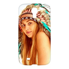 Indian 27 Samsung Galaxy S4 I9500/i9505 Hardshell Case by indianwarrior