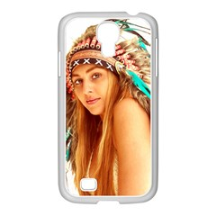 Indian 27 Samsung Galaxy S4 I9500/ I9505 Case (white)