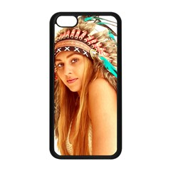 Indian 27 Apple Iphone 5c Seamless Case (black) by indianwarrior