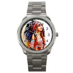 Indian 22 Sport Metal Watch by indianwarrior