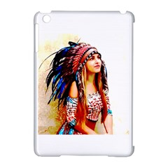 Indian 22 Apple Ipad Mini Hardshell Case (compatible With Smart Cover) by indianwarrior