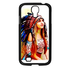 Indian 22 Samsung Galaxy S4 I9500/ I9505 Case (black) by indianwarrior