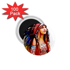 Indian 22 1 75  Magnets (100 Pack)  by indianwarrior