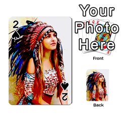 Indian 22 Playing Cards 54 Designs  by indianwarrior