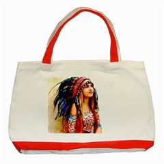 Indian 22 Classic Tote Bag (red) by indianwarrior