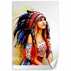 Indian 22 Canvas 24  X 36  by indianwarrior