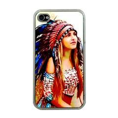 Indian 22 Apple Iphone 4 Case (clear) by indianwarrior