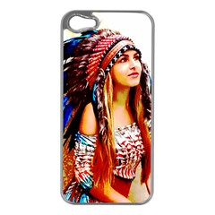 Indian 22 Apple Iphone 5 Case (silver) by indianwarrior