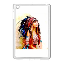 Indian 22 Apple Ipad Mini Case (white) by indianwarrior