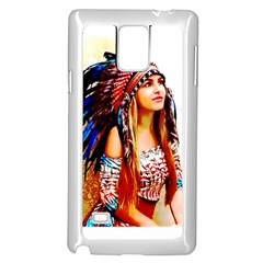 Indian 22 Samsung Galaxy Note 4 Case (white) by indianwarrior