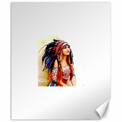 Indian 22 Canvas 20  X 24   by indianwarrior