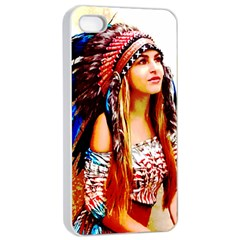 Indian 22 Apple Iphone 4/4s Seamless Case (white) by indianwarrior