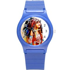 Indian 22 Round Plastic Sport Watch (s) by indianwarrior