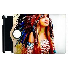 Indian 22 Apple iPad 2 Flip 360 Case by indianwarrior