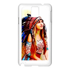 Indian 22 Samsung Galaxy Note 3 N9005 Case (white)