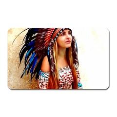 Indian 21 Magnet (rectangular) by indianwarrior