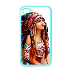 Indian 21 Apple Iphone 4 Case (color) by indianwarrior