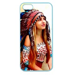 Indian 21 Apple Seamless Iphone 5 Case (color) by indianwarrior