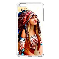 Indian 21 Apple Iphone 6 Plus/6s Plus Enamel White Case by indianwarrior