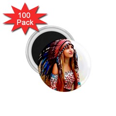 Indian 21 1 75  Magnets (100 Pack)  by indianwarrior