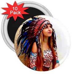 Indian 21 3  Magnets (10 Pack)  by indianwarrior