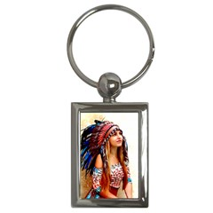 Indian 21 Key Chains (rectangle)  by indianwarrior