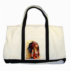 Indian 21 Two Tone Tote Bag by indianwarrior