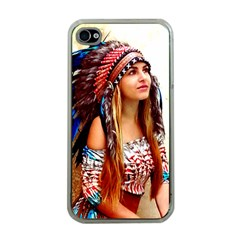 Indian 21 Apple Iphone 4 Case (clear)