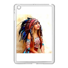 Indian 21 Apple Ipad Mini Case (white) by indianwarrior
