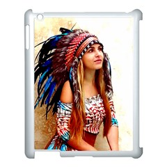 Indian 21 Apple Ipad 3/4 Case (white) by indianwarrior