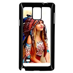 Indian 21 Samsung Galaxy Note 4 Case (black) by indianwarrior