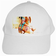 Indian 18 White Cap by indianwarrior