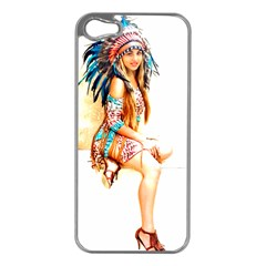 Indian 18 Apple Iphone 5 Case (silver) by indianwarrior