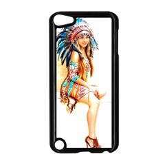 Indian 18 Apple Ipod Touch 5 Case (black) by indianwarrior