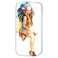 Indian 18 Samsung Galaxy S3 S Iii Classic Hardshell Back Case by indianwarrior