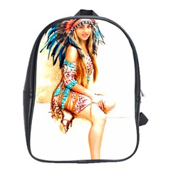 Indian 18 School Bags (xl)  by indianwarrior