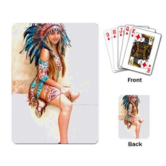Indian 17 Playing Card by indianwarrior