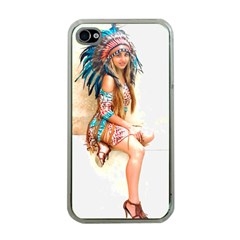 Indian 17 Apple Iphone 4 Case (clear) by indianwarrior
