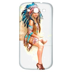 Indian 17 Samsung Galaxy S3 S Iii Classic Hardshell Back Case by indianwarrior
