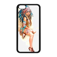 Indian 17 Apple Iphone 5c Seamless Case (black) by indianwarrior