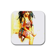 Indian 16 Rubber Coaster (square)  by indianwarrior