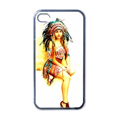 Indian 16 Apple Iphone 4 Case (black) by indianwarrior