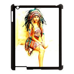 Indian 16 Apple Ipad 3/4 Case (black) by indianwarrior