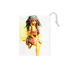 Indian 16 Drawstring Pouches (small)  by indianwarrior